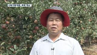 태풍 북상…수확철 농가·가을 축제 초비상