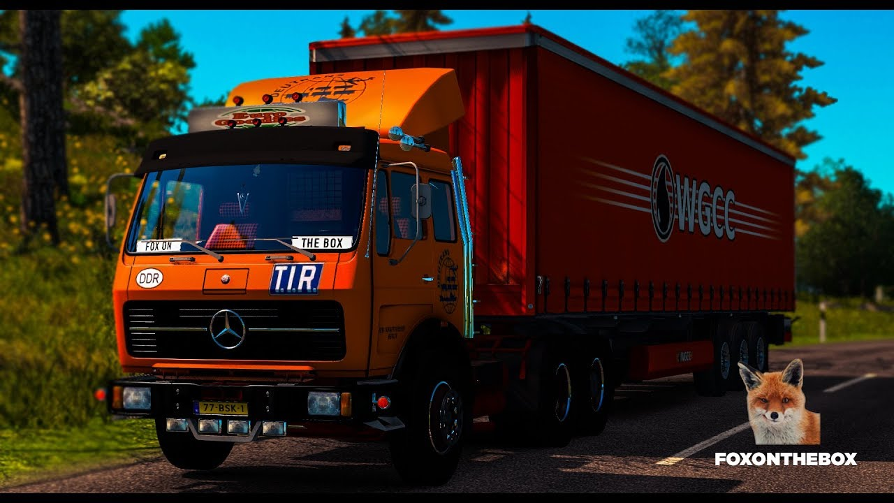 моды для euro truck simulator 2 1.28