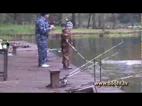 """Рыбалка в клубе """"Золотой сазан"""". Часть 3."""
