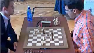 GM Carlsen (Norway) -  GM Anand (India)