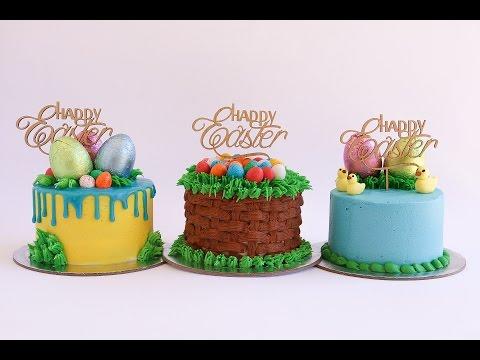 Mini Easter Themed Cake Tutorial- Rosie's Dessert Spot