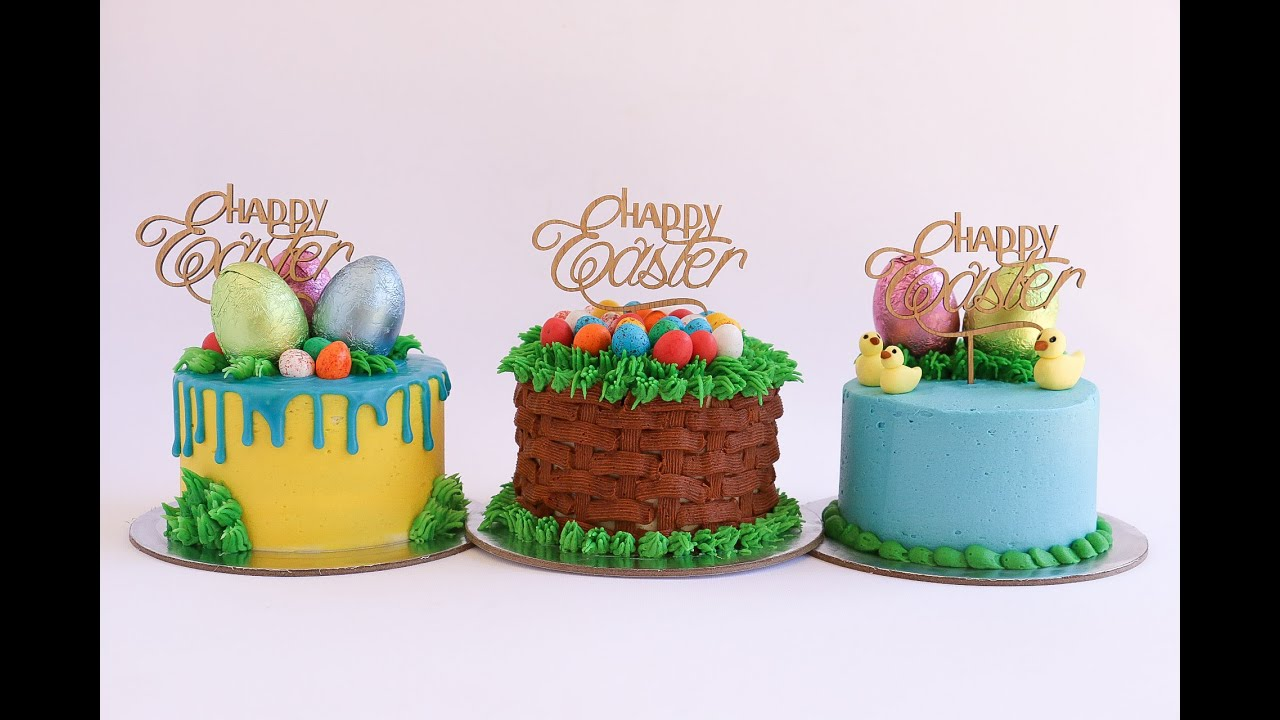 Mini Easter Themed Cake Tutorial Rosie S Dessert Spot