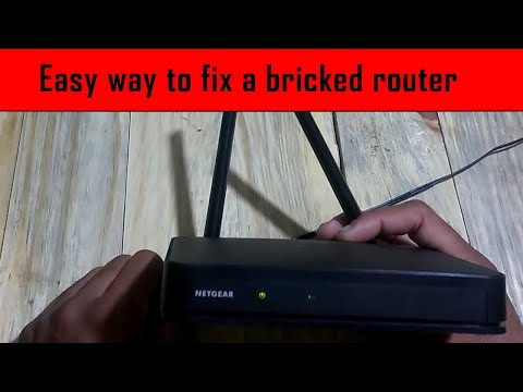Netgear Router Not Working? Try This Simple Method. (FIX BRICKED ROUTER)