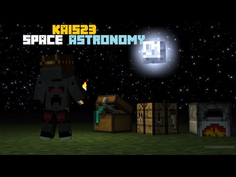 Minecraft Space Astronomy #8 - Flamethrower