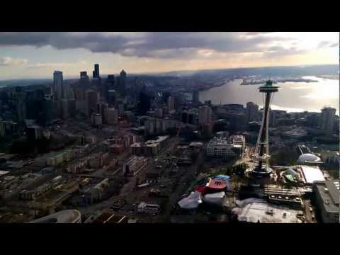 Seattle helicopter tour flight