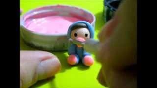 Recordatorio Baby Shower- Porcelana Fría♥FACIL