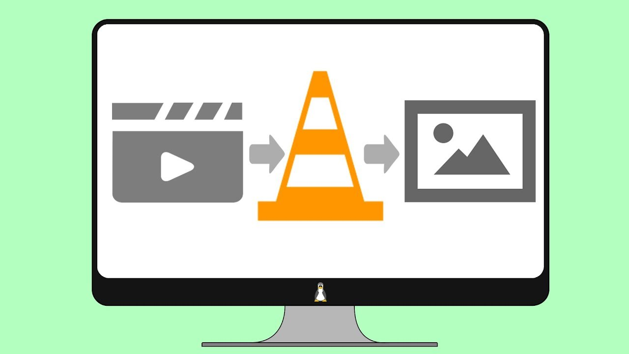 Convert video to images with VLC