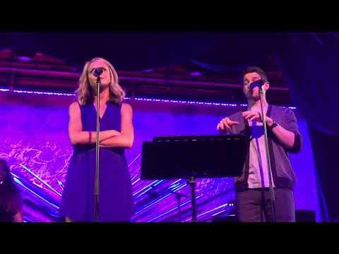 "Jeremy Jordan & Ashley Spencer @ Sony Hall ""Waitress Medley"""