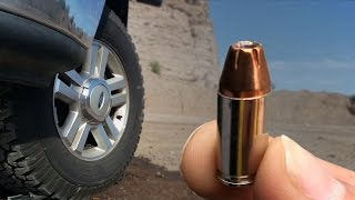 How Effective is a 9mm Shooting Out a Tire?