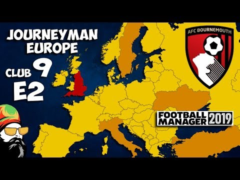 FM19 Journeyman - C9 EP2 - Bournemouth England - A Football Manager 2019  Story