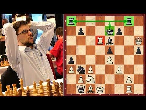 MVL's Epic King Move At 2018 Batumi Chess Olympiad