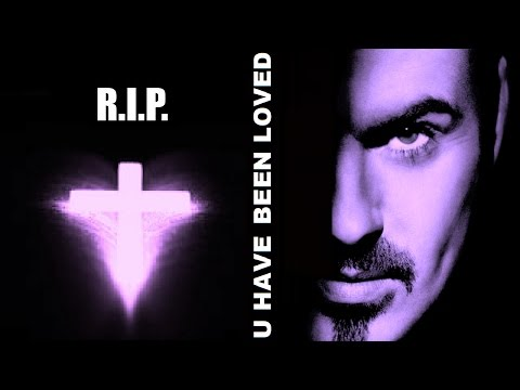 George Michael - You have been Loved + 'Lyrics on Screen' R.I.P.
