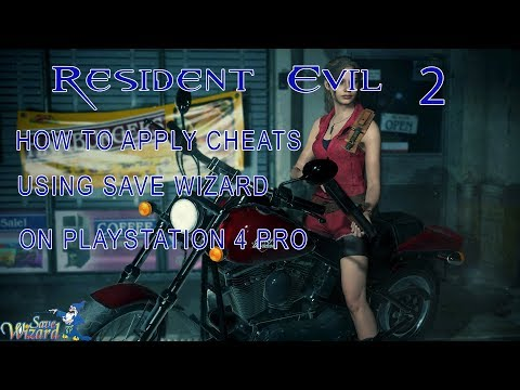 Resident Evil 2 Remake How to use Save Wizard Editor PS4