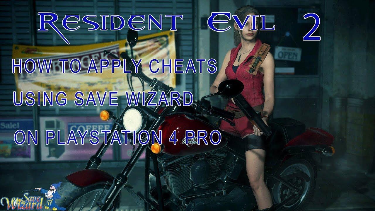 resident evil 2 cheats ps4