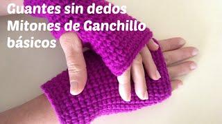 Fingerless gloves or mittens crochet step