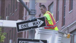 11th Avenue Construction Begins In Midtown Manhattan