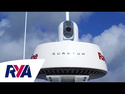 The Latest Radar Technology with the Raymarine Quantum at London Boat Show - Compact Marine - Chirp