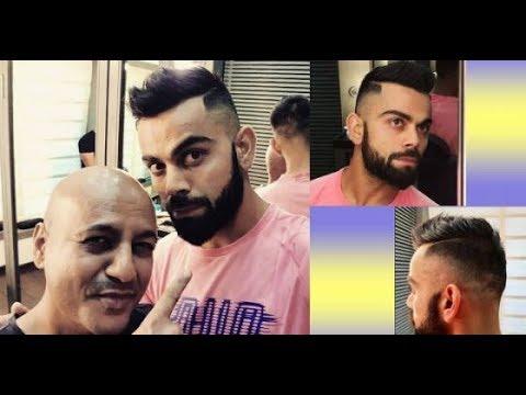Virat Kohli New Hair Style Youtube