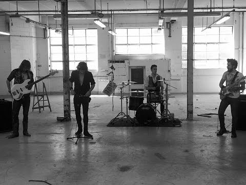 DIRTY THRILLS Making The Video - 'No Resolve' - Heavy Blues Rock