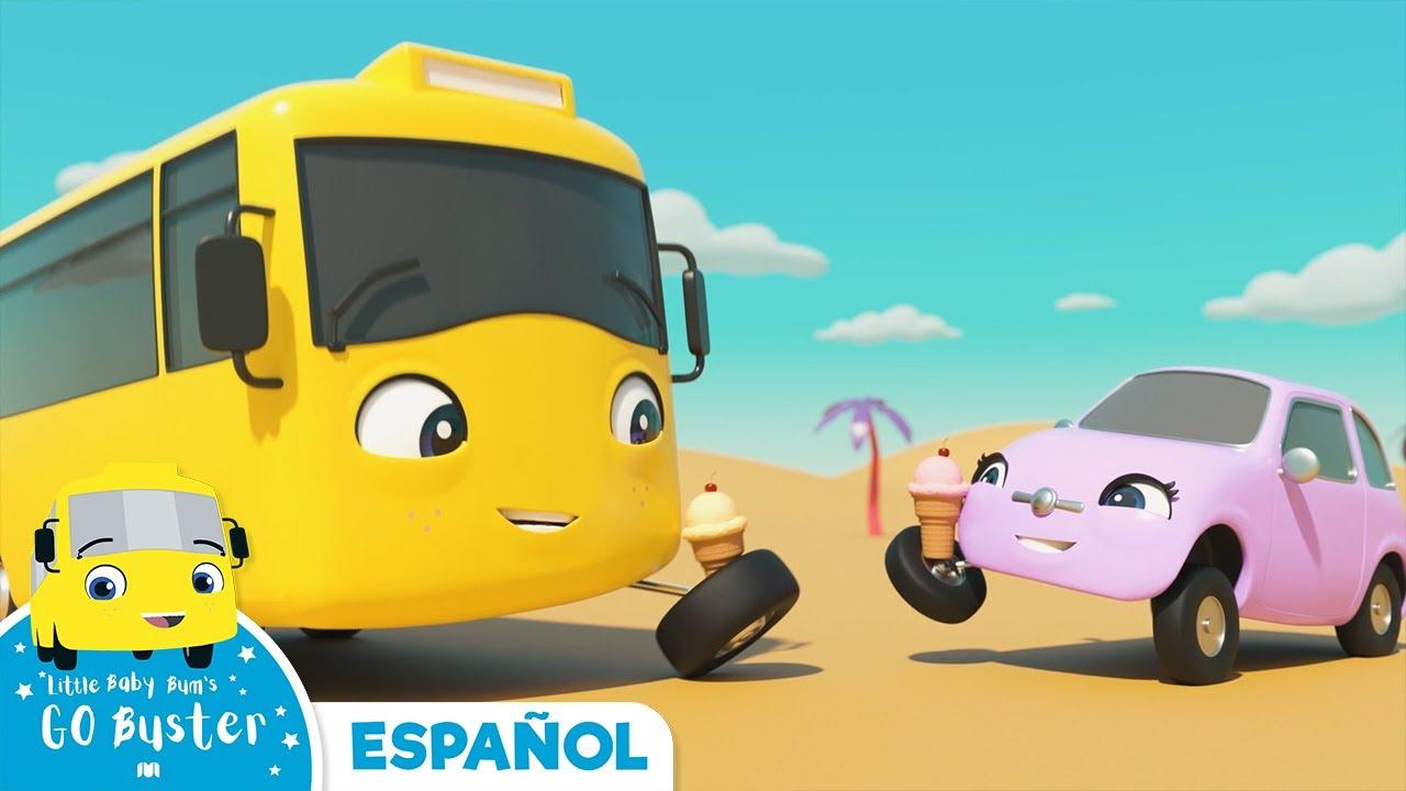 Canción de los Mejores Amigos | Canciones Infantiles | Buster en Español - Little Baby Bum