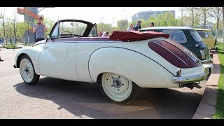 Restored 1956 IFA F9 Cabriolet