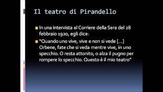 Il dramma moderno e Così è se vi pare di Luigi Pirandello