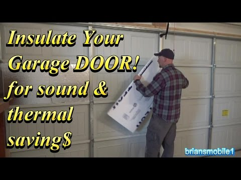 Insulate Your Garage Door