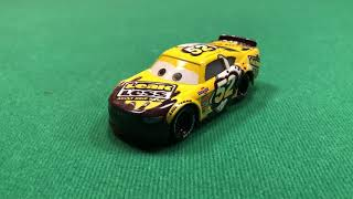 Mattel Disney Cars 3 2018 Brian Spark #52 LeakLess Stock Car Die-cast Review
