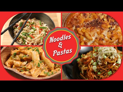 Noodles And Pastas | Easy To Make Chinese And Italian Recipes By Ruchi Bharani