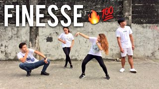 FINESSE REMIX - Bruno Mars ft Cardi B Dance Cover | Matt Steffanina Choreography