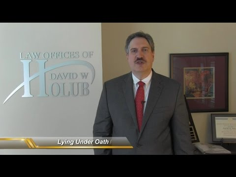 Lying Under Oath | Making A False Statement | Indiana Lawyer Shares Consequences