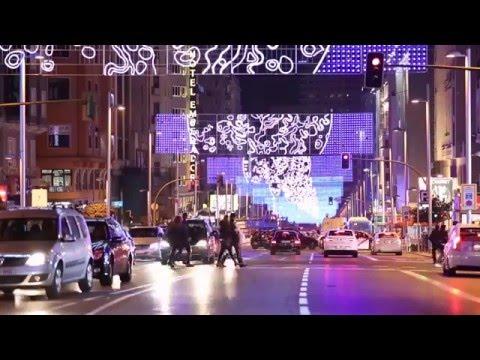 La Navidad llega a la Gran Vía de Madrid