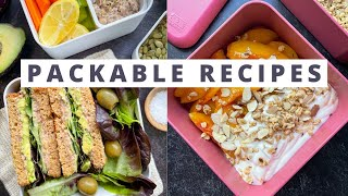 Healthy Meal Prep Recipes for Spring  Easy Packed Lunch Ideas