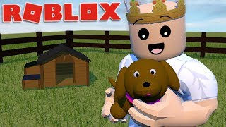 RAISING A PET IN ROBLOX | Roblox - Feed Your Pets!