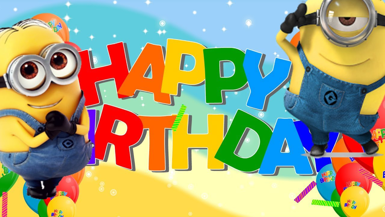 Happy Birthday Song Minions (Despicable Me)