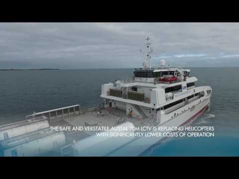 Austal Offshore Express 70   Rashid Behbudov for Caspian Mar