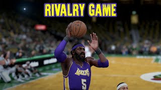 RIVALRY GAME - NBA 2K16 - Los Angeles Lakers vs. Boston Celtics