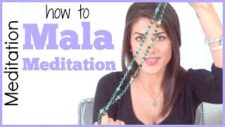 How to Meditate (Mala Meditation) | Sarah Beth Yoga