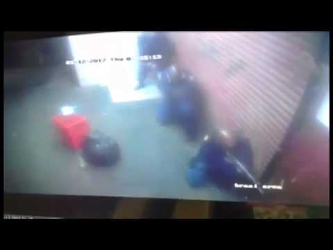Video shows police officer shot dead by colleague