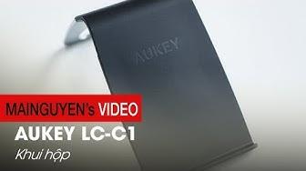 Dock sạc đứng không dây Aukey LC-C1: Thiết kế đẹp, giá 890.000 VNĐ - www.mainguyen.vn