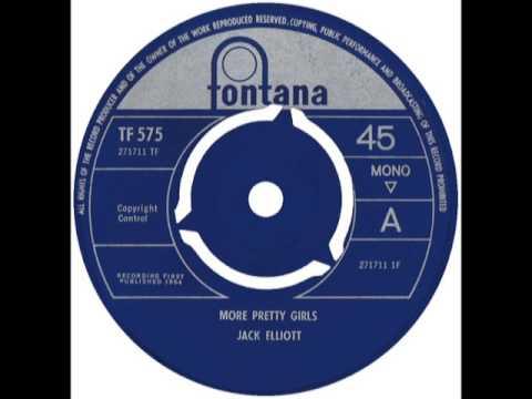 RAMBLIN' JACK ELLIOTT - More Pretty Girls Than One - FONTANA TF 575 UK 1965 Folk Blues