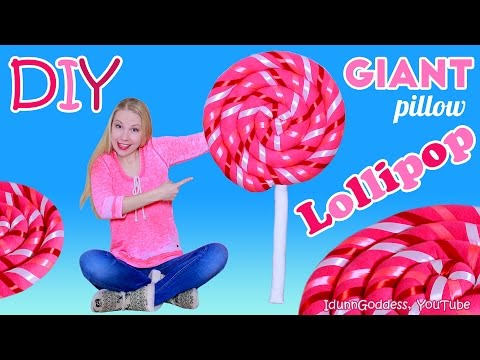 Thumbnail: How To Make Giant Lollipop Pillow – DIY Giant Lollipop Floor Cushion