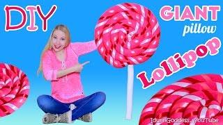 How To Make Giant Lollipop Pillow – DIY Giant Lollipop Floor Cushion