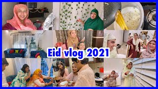 Our eid celebration | balcony & drawing room final look | sheer khurma recipe | ibrahim family |vlog