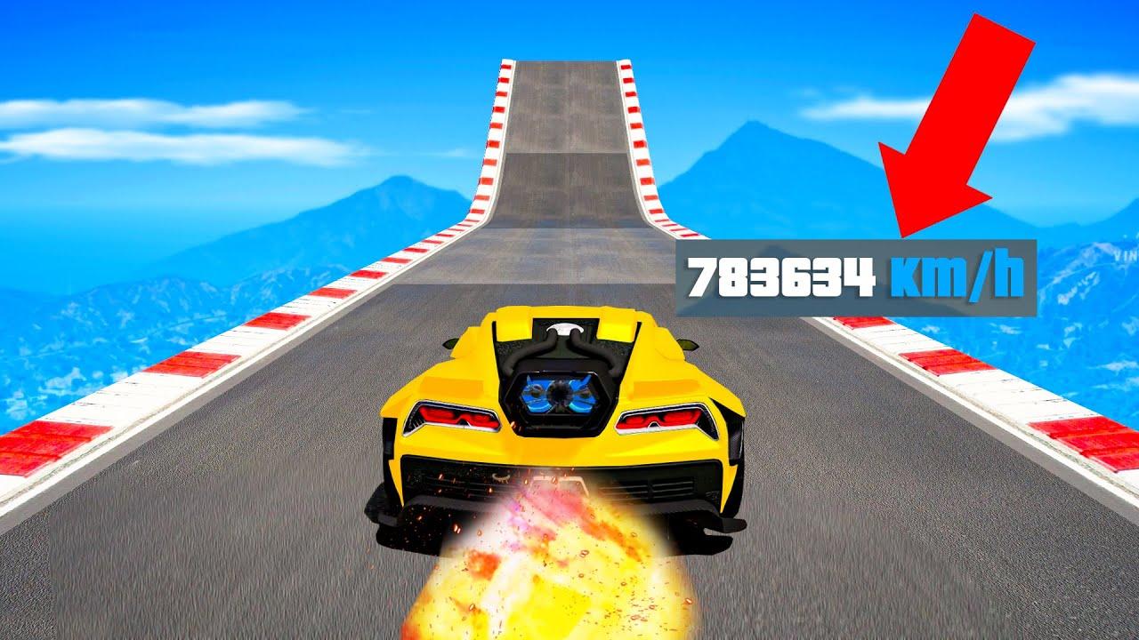 ich PRANKE YOUTUBER mit meinem 10.000 km/h AUTO! GTA 5 RP!