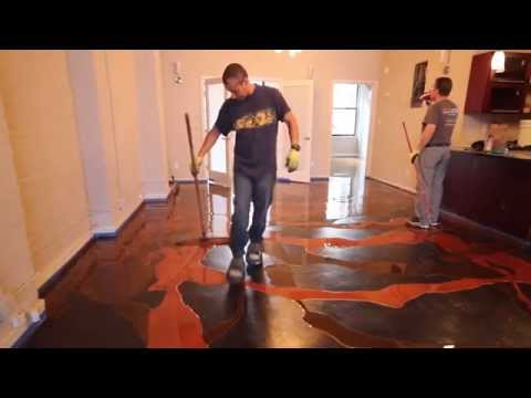 Decorative Epoxy Installation