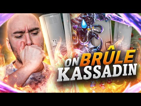 Vidéo d'Alderiate : ON MET KASSADIN DANS LE CASIER + JE BRÛLE