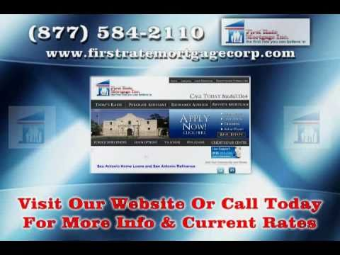 Mortgage Loans in San Antonio - First Rate Mortgage
