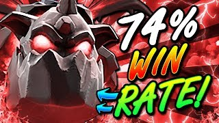 74% WIN RATE BOMBER DECK!! CRAZIEST DECK I'VE EVER SHARED!!