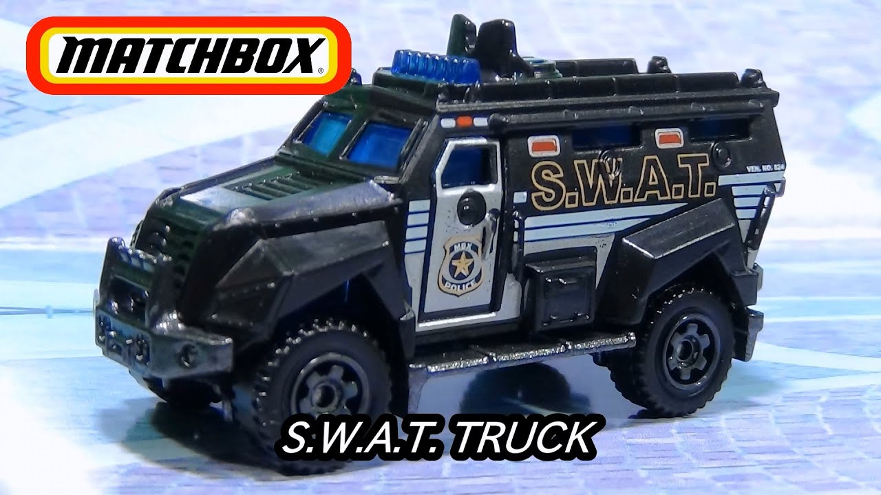 matchbox s w a t truck youtube matchbox free engine
